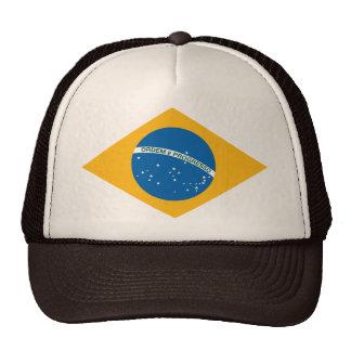 Brasilian Flag Ensign Trucker Hat
