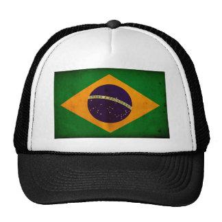 Brasilian Flag Hats