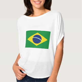 Brasilian flag ladies top | Brasil tee merchandise