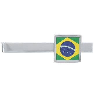 Brasilian flag tie clip | Brasil pride symbol