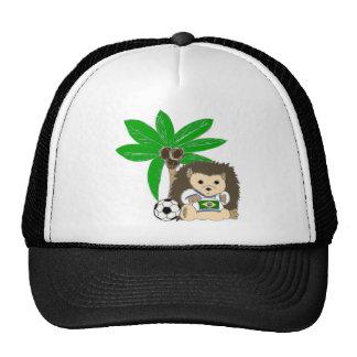 Brasilian HedgeHog Hats