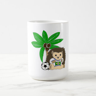 Brasilian HedgeHog Coffee Mugs