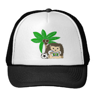 Brasilian HedgeHog Trucker Hat