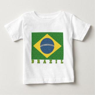 Brasilian soccer 2010 baby T-Shirt