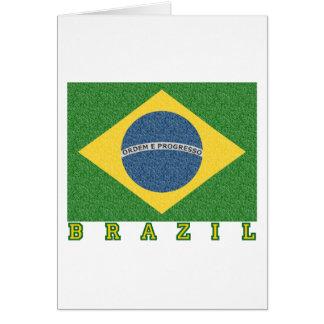 Brasilian soccer 2010 card