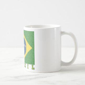 Brasilian soccer 2010 coffee mug