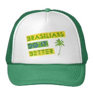 Brasilians do it better mesh hats
