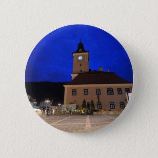 Brasov in Transylvania, Romania Button