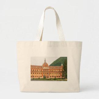 Brasov in Transylvania, Romania Large Tote Bag