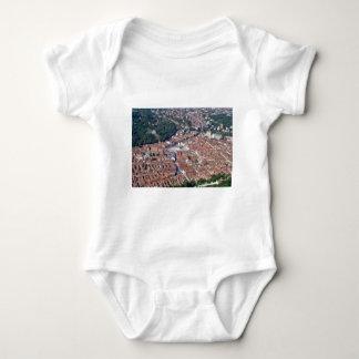 Brasov, Romania: historic  part old town 1 Baby Bodysuit