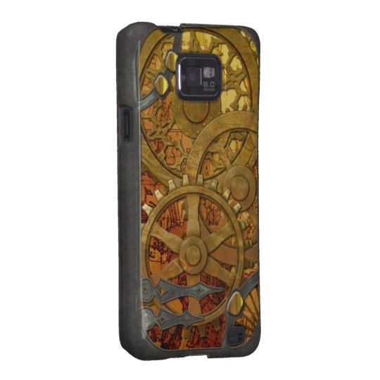 Brass and Bronze Steampunk for Galaxy Galaxy SII Cover