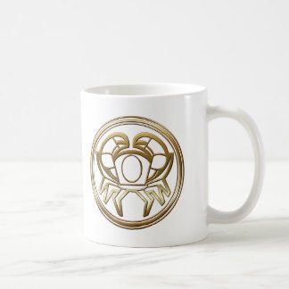 Brass and Copper Cancer Classic White Coffee Mug