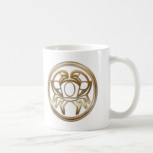 Brass and Copper Cancer Mug