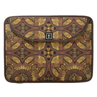 Brass and Copper Steampunk MacBook Pro Sleeve