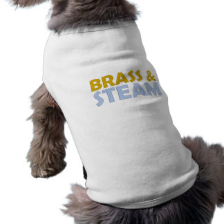 Brass and Steam Dog T-shirt