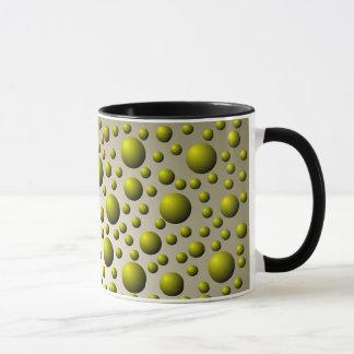 Brass Ball Pattern Mug