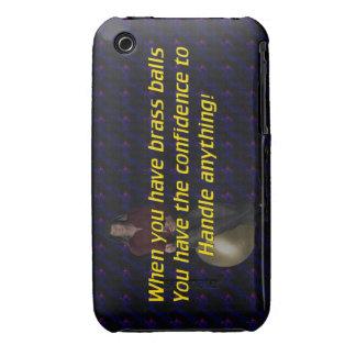 Brass Balls iPhone 3 Case-Mate Cases