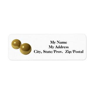 Brass Balls Label