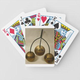 Brass Balls Pawn® Playing Cards
