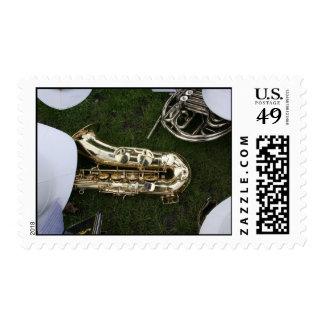 Brass Band #01 Stamp