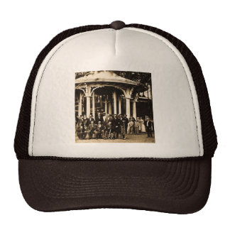 Brass Band at Saratoga Springs, New York ca. 1860s Trucker Hat