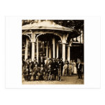 Brass Band at Saratoga Springs, New York ca. 1860s Post Cards