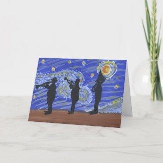 Brass Band Gang card