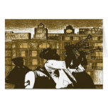 Brass Band, New Orleans Greeting Card