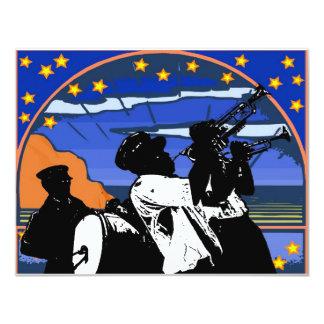 Brass Band Stars Card