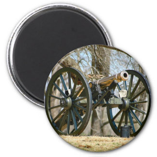 Brass Cannon Magnet
