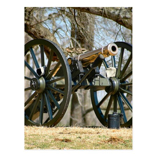 Brass Cannon Postcard