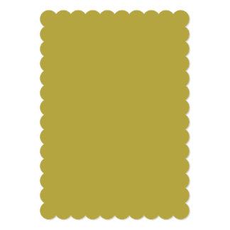 Brass Classic Colored Card