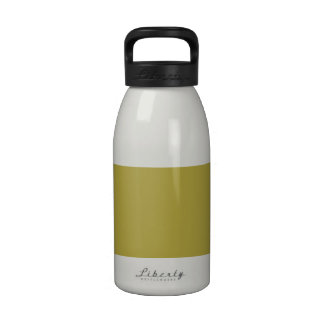 Brass Classic Colored Reusable Water Bottle