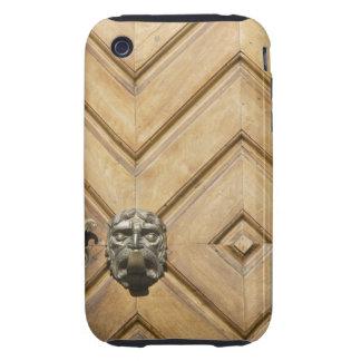 Brass Door Handle On A Wooden Door Bolzano Tough iPhone 3 Cases