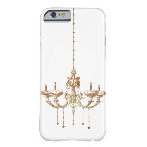 Brass Drop Candle Chandelier Lightning Barely There iPhone 6 Case