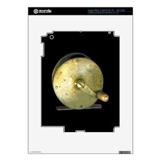 Brass Fishing Reel 1800's iPad 3 Skins