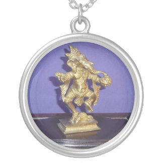 Brass Ganesha Silver Necklace