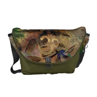 brass gold brown green beige turquois Messenge Bag Messenger Bags
