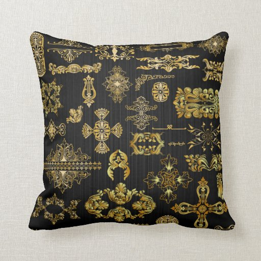 Brass Hardware Collection Pillows