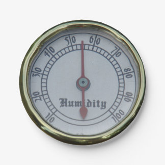 Brass Humidity Meter Paper Plates 7 Inch Paper Plate