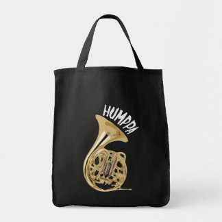 Brass Humppa Dark Grocery Bag