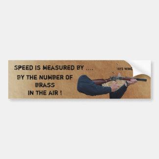 Brass in Air Bumper Sticker