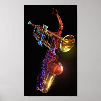 Brass Instruments Poster