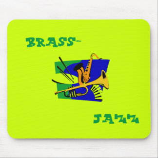 Brass - jazz mouse pad