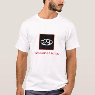 BRASS KNUCKLE BATTERY T-Shirt