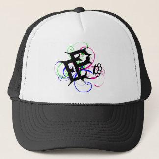 brass knuckle pain trucker hat
