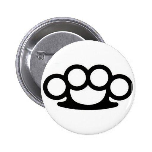 Brass Knuckle Pin