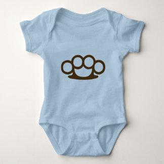 Brass Knuckles Baby Bodysuit