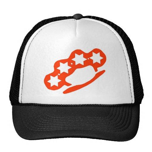 brass knuckles mesh hat