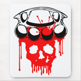 Brass Knuckles Mouse Pad